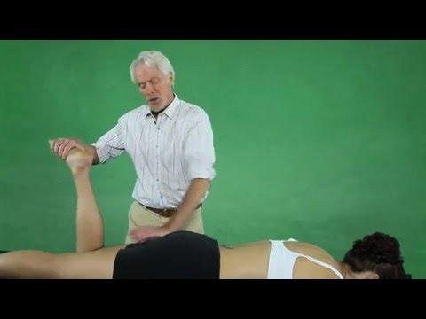 How to massage hamstring injuries and myofascial adhesions