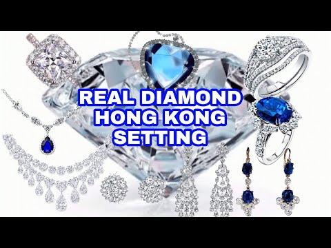 Real diamond hong kong setting estimated price    jennylove channel