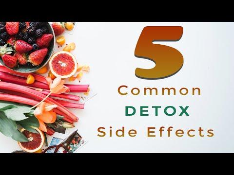 5 common detox side effects