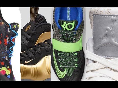 "Jordan 4 laser, metallic foams, kyrie 1 ""brotherhood, reebok x stash, and more on the heat check"