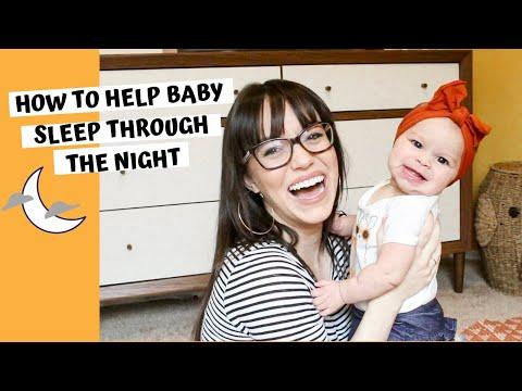 5 tips to help baby sleep through the night   newborn sleep training?