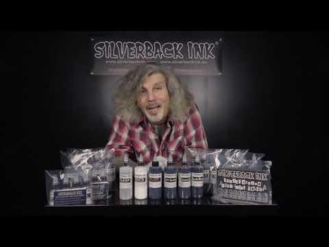 Silverback tattoo ink® range overview   vegan-friendly black, white & grey tattoo ink