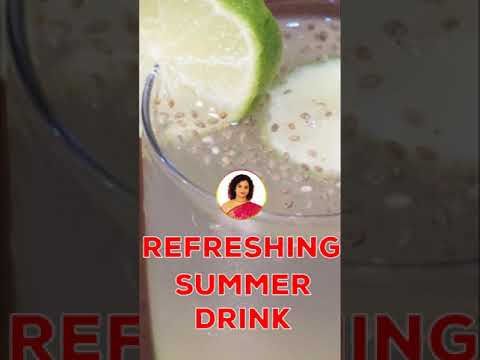 Refreshing lemon detox water for weight loss | summer drinks | vibrant varsha - #shorts