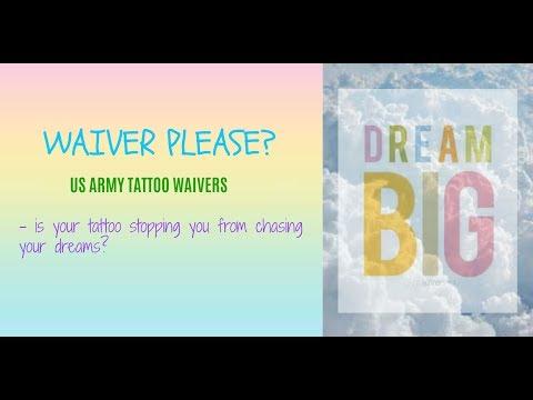 Army tattoo waivers