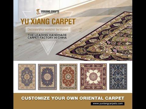 China handmade silk carpets