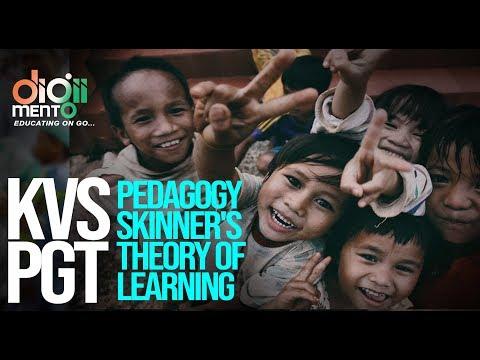 Kvs pgt pedagogy 04 skinner's theory of learning