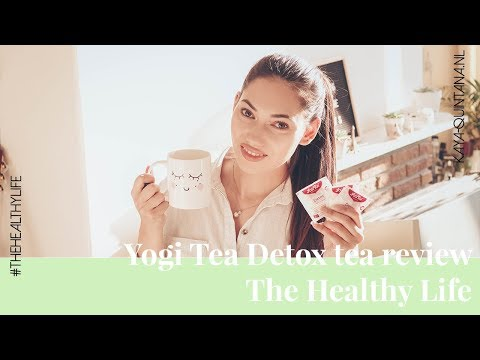 I tried the yogi detox tea for five days, review! | the healthy life
