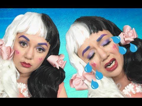 Melanie martinez cry baby makeup tutorial!