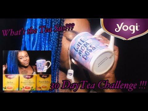 30 days yogi detox tea challenge   tea haul