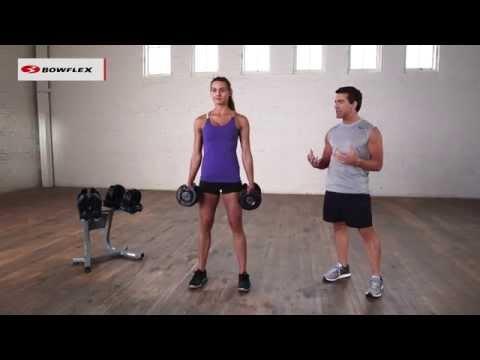 Bowflex® dumbbell workout   tone your legs