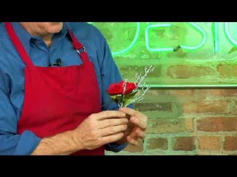 Silk flower corsage instructions : floral design