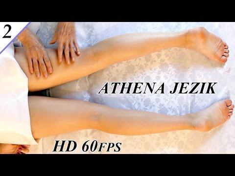Leg massage relaxation techniques - asmr athena jezik full body series 2 of 7 hd 60p