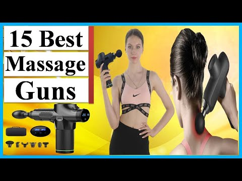 ✅massage guns: top 15 best massage guns in 2020. [therapy massage gun]