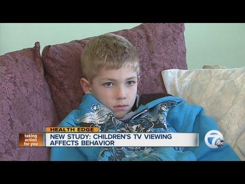 New study: children's tv viewing affects behavior
