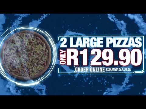 Roman's pizza best value range