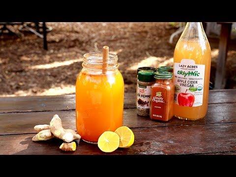 Glowing detox tea | candida, liver & kidney cleanse magic