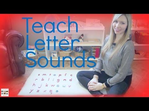 Teach letter sounds to your child using montessori principles - living montessori now