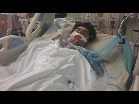 Paralyzed teenager walks again