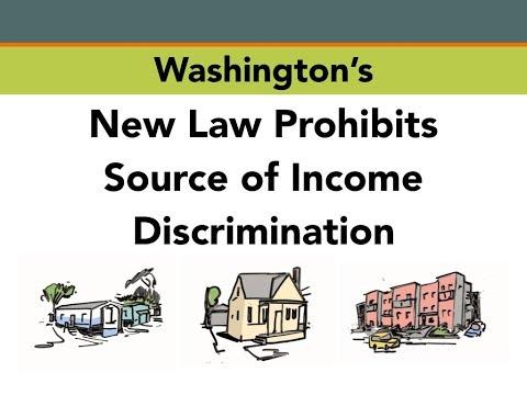 Washington's new law prohibits source of income discrimination