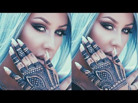 Henna tattoo tutorial - chrisspy