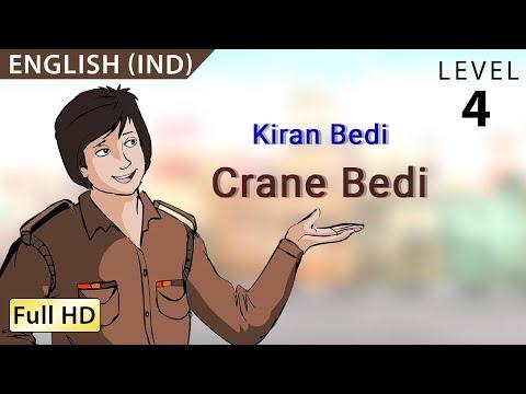 "Kiran bedi, crane bedi: learn english (ind) - story for children ""bookbox.com"""