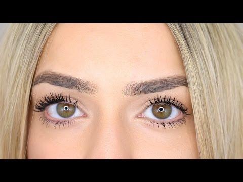 My quick brow & mascara routine