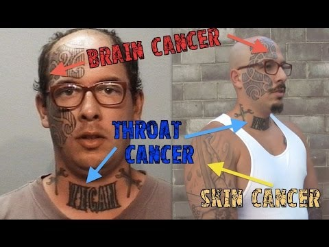Tattoos cause cancer ~ health minute protip