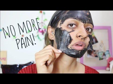 Charcoal face mask _ that wont hurt | #nopeel skin detox, remove blackheads | superwowstyle prachi