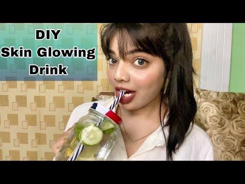 Diy detox drink for clear skin ||