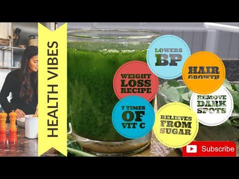 How to make moringa juice  flat no diet/no exercise  100% natural moringa green detox diet drink
