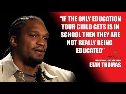 Etan thomas talks about why black children need education outside of regular school