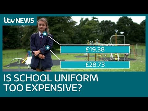 Cost of school uniform pushing parents into debt   itv news
