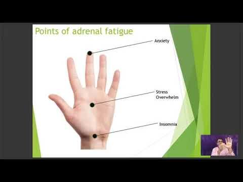 At home adrenal acupressure points diy