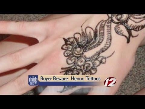 Dangers of black henna tattoos