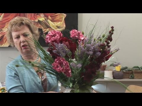 How to make silk flower arrangements