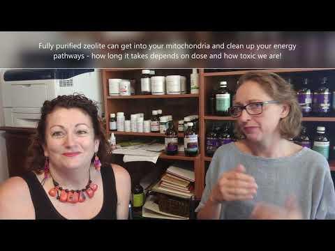 Chatting zeolite for detox, fibromyalgia, fatigue, pain, heavy metals: with linda & madonna