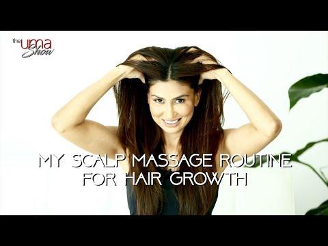 My scalp massage routine for hair growth   hair massage tips