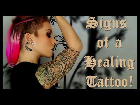 Signs of a healing tattoo!   breeann barbie