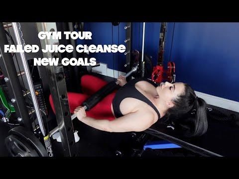 Gym tour/ fail juice cleanse/ fresh start new goals