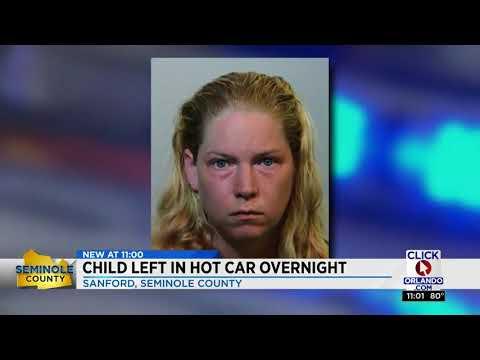 Mom makes liquor store run, leaves child in hot car overnight