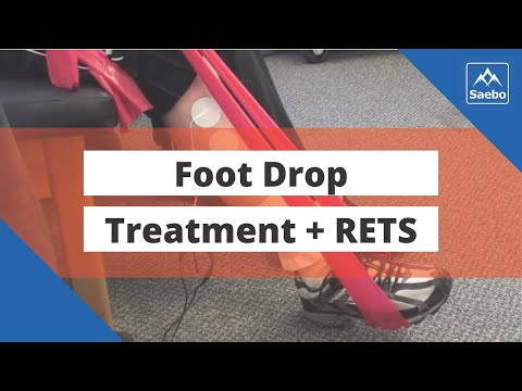 Foot drop treatment - using reciprocal emg triggered stimulation