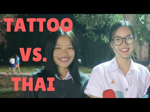 What thai people think of tattoos - คนไทยคิดยังไงกับลายสัก? - interview