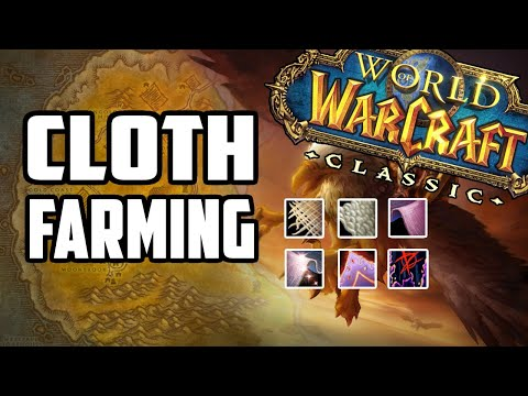 Cloth farming in classic wow