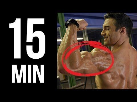 15 min arm workout for men