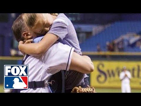 Military father surprises daughter, reunited at baseball game