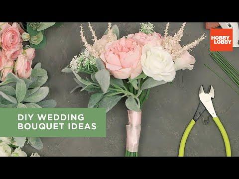 Diy wedding bouquet ideas | hobby lobby®