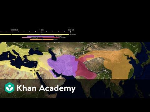 Early silk road   world history   khan academy