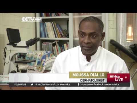 Senegal's black henna tattoos
