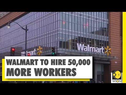 Walmart to hire 50,000 more workers in coronavirus-driven hiring spree