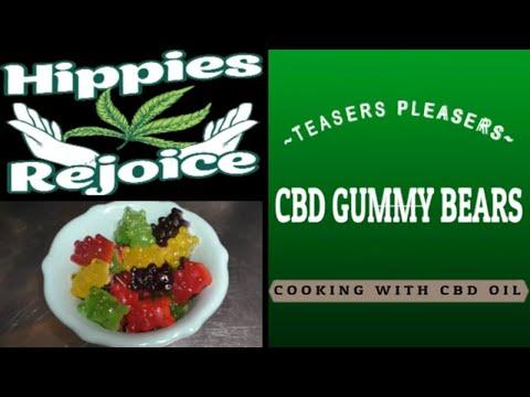 Cbd gummy bears ~cooking with cbd oil~
